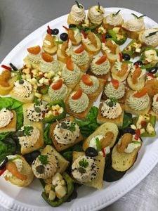 Banquetes, platillos, catering, canapés en Monterrey